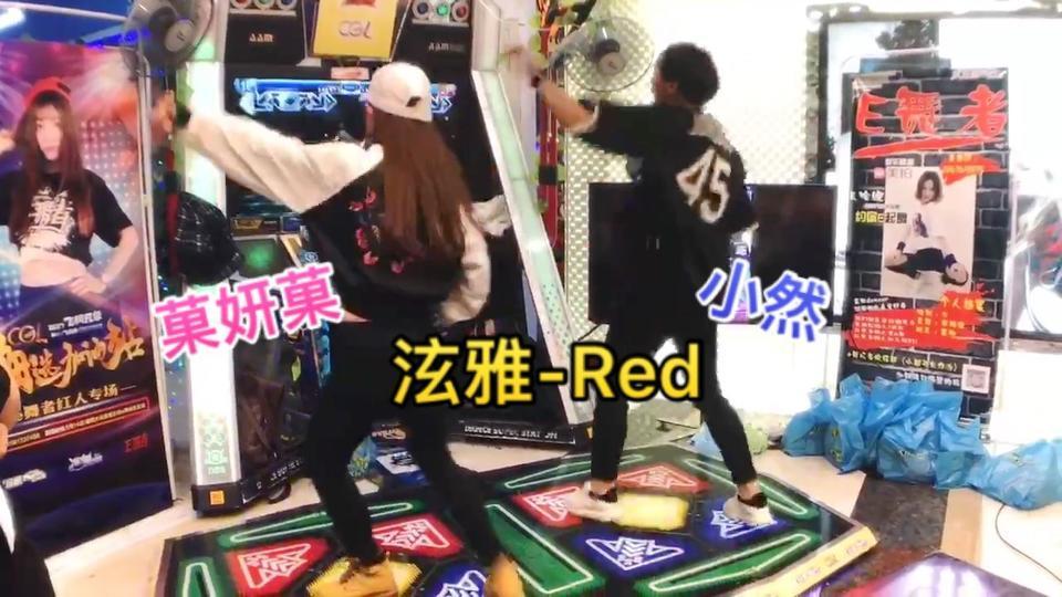 #飞凡杯cgl##e舞者#海选加油站-襄阳站-@菓妍菓 @_RRRRRan 合跳了女神泫雅的Red~小然是又能可爱又能性感呀!