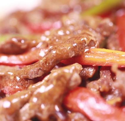 #美食##家常菜#最简单的黑椒牛柳,也有小秘诀😊