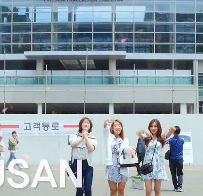 #bntstyle#韩国instar人气3大美女一起伴游釜山,边吃边喝边玩的快乐生活开始上演,为了能让大家身临其境,本游记共分为2部分哟!此视频维第一部分~一起来体验釜山行吧!#釜山市##韩国娱乐#@我要上热门@美拍小助手@玩转美拍@美拍娱乐