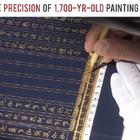 感受下拥有1700年历史的旧绘画技术,这操作精度让人窒息!😍