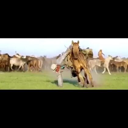 慢动作下的蒙古风,分享一段小视频,草原男人的霸气外漏#玩转慢动作#@美拍小助手 @丢丢Miami👫👶🐕 @Don'tcry安
