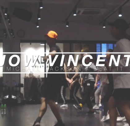 Workshop#JowVincent# 编舞 BEAT IT @Advancerz #舞蹈#
