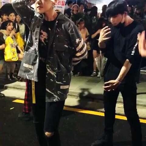pmp 杨胜浩 韩国弘大街头公演 LGLaini的美拍图片