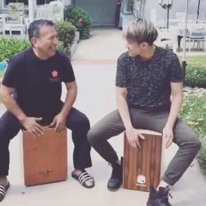 和国手Alex Acuna打木箱鼓🥁!#美国##木箱鼓##beatabox#