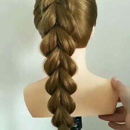 #美妆时尚##发型##编发教程#马尾辫怎么绑好看?看这里,是否一看就会?