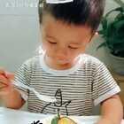 一个顾客发的,宝宝,你慢点吃没人跟你抢。😘你想知道宝宝加我微信xyqq3344#华宝巧师傅千层蛋糕#