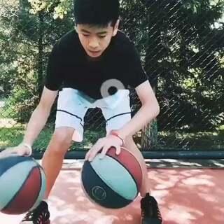 #今日训练##男神##篮球#弟弟今天的视频,帅不帅!😏😈