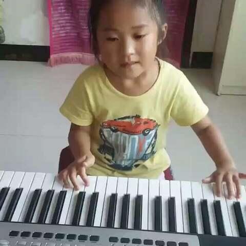 电子琴演奏《小红帽》图片