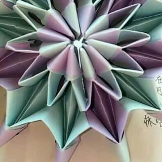 折纸教程##创意手工折纸#烟花无限翻.