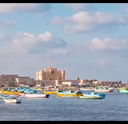 地中海沿岸的避暑胜地,历史悠久的亚历山大城!关注【拍秀旅行】微信公众号,获得更多#旅行#咨询。
