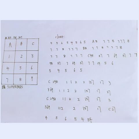 superpads seven谱子