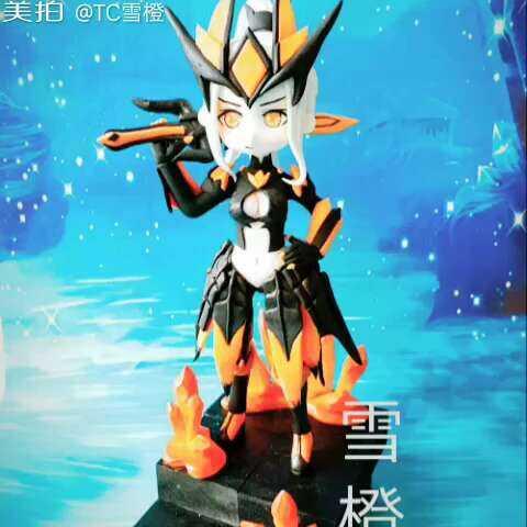 花木兰水晶猎龙者图片