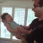 Ryan瑾瑜两个月+10 喜欢亲亲抱抱举高高,我好爱他