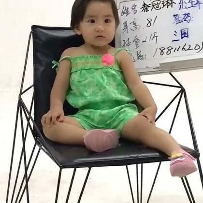 小小模特~三元奶粉广告的试镜,果果配合度太差了,呆不住。#宝宝#