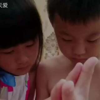 仔爸制作的视频,太好看了!愿兄妹俩继续努力,共同进步!#娱乐##仔仔和天爱##小小钢琴家#