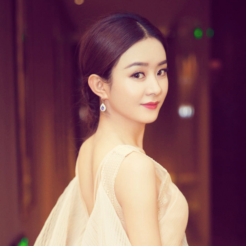 唯爱赵丽颖,鹿晗的美拍图片