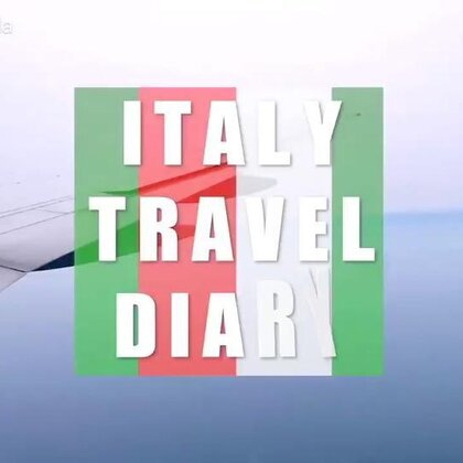 Italy Travel Diary 🇮🇹 #女神##自拍##旅游#