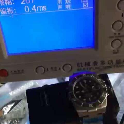 【蜗牛名表woniuo.com美拍】N厂最新V7版本绿水鬼检测调校
