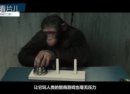 #搞笑##我要上热门##影视#四分钟看完脑洞科幻片《猩球崛起》 :猩猩都比你努力,还有什么理由不学习。