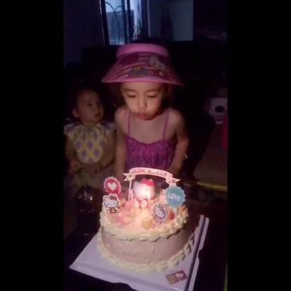 姐姐生日快乐#宝宝#