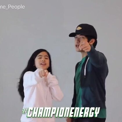 CHAMPION ENERGY MOVES _ Ranz and Niana #舞蹈#
