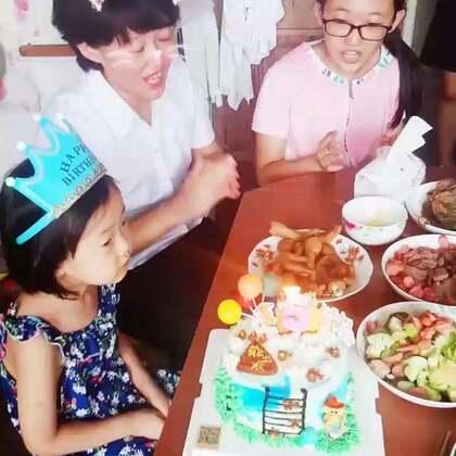祝#宝贝生日快乐#小宝贝5岁了😘😘😘