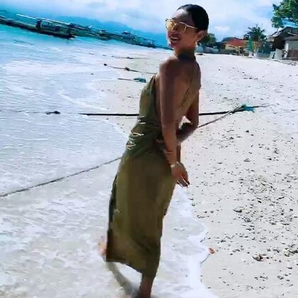蓝梦岛女神们的潜水课#巴厘岛##旅行##潜水#