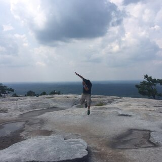 #疯狂dabs大挑战##dab# 😏地点:Stone Mountain Park(Georgia, Atlanta) USA