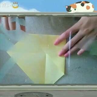 折纸盒子教程