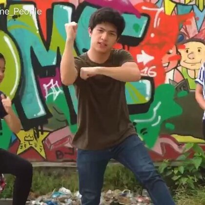 Kid Vs Parent Dance Battle! _ Ranz and Niana #舞蹈#