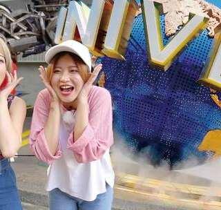 @candy粉妞妞 @小吉利Jelly 的闺蜜之旅开始啦!她们新加坡的第一站是呼声最高的环球影城。准备好尖叫了吗? #hi走啦##带着美拍去旅行##女神#