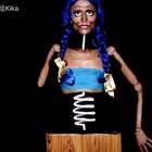 2016NYX塞尔维亚美妆大奖赛-视觉幻象-木偶娃娃(获胜)听说有很多人都看过我这个彩绘作品,今天终于发出来啦。当时的灵感是来源于一个木偶娃娃。你们喜欢吗~#创意人体彩绘##木偶人#