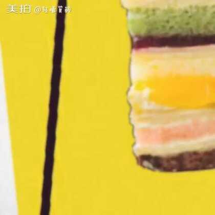 继上一个视频#华宝巧师傅千层蛋糕#