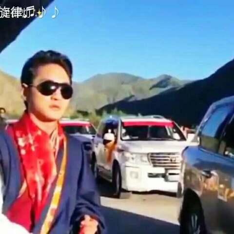 藏族歌手谢旦婚礼现场