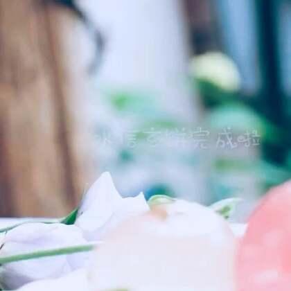 看着教程给大家做了个水信玄饼,分享给大家😘各种颜色的花茶都可以哟~