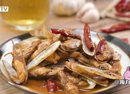 美味十足的下酒菜,不得不爱的酱香蛏子#魔力美食 ##美食##海鲜#