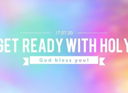 Get ready with Holy(1) #美妆#