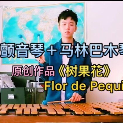 收录在我的专辑 《壹 ONE》𥚃面的原创作品- 《树果花 Flor de Pequi》,也可以在网易云U乐国际娱乐听到哦! #U乐国际娱乐##热门##乐器#
