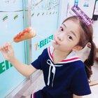 芝士棒真好吃~😉😝 #罗夏恩##罗夏恩Haeun##宝宝#