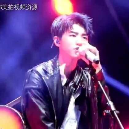 #TFBOYS四周年##TFBOYS# 南京四周年演唱会#王俊凯# 个人SOLO 视频「爱什么稀罕」 一腔热血稀罕你😜