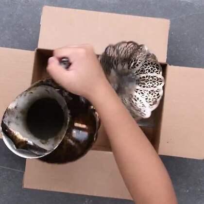 原来裂开的碗可以用牛奶复原!这些修复神技就跟魔法一样啊!#手工##机智日记##我要上热门#