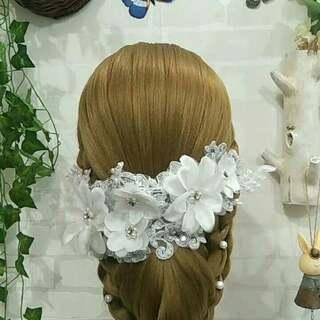 新娘盘发##时尚盘发造型##时尚编发教程#有结婚的宝宝吗