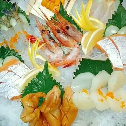 刺身拼盘#美食##刺身寿司继续走起。#@🍣寿司贝仔 @Jeonghohyun @影子!俊 @寿司🍣华仔