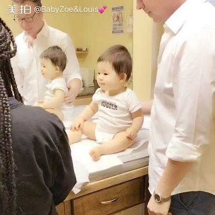 路易斯一周岁体检报告:身高79%、体重78%、头围79%😁😁😁 #宝宝##BabyLouis 12个月# @-Brandon-🇺🇸