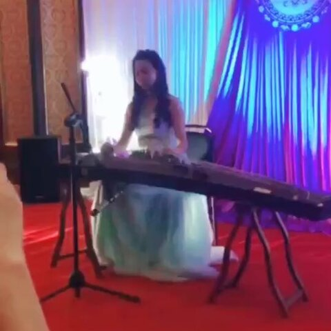 大鱼海棠 古筝 钢琴小小洁的美拍