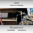 【broadmoor】玩一首morden jazz blues 的曲子~请出我非常喜欢的架子鼓小男神 @Drummer鼓手禹丞 和我一起演奏~