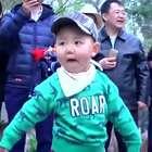 2岁萌娃跳广场舞!肯定是奶奶带大的!#宝宝#