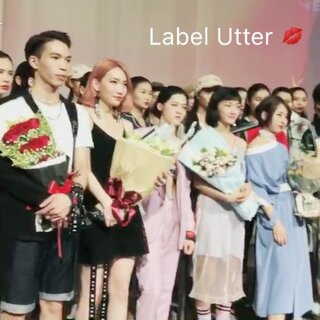 Label Utter first show in GZ Party Pier Beer Culture & Art Zone#labelutter##fashionshow #model #design #GuangZhou