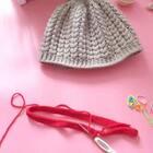 枣型针帽子教程-4#手工##宝宝冬季帽子##成人冬季帽子#
