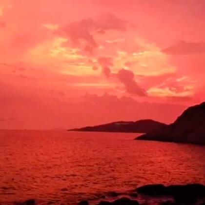 2017年8月22日,海陵岛,天鸽台风来临前夕
